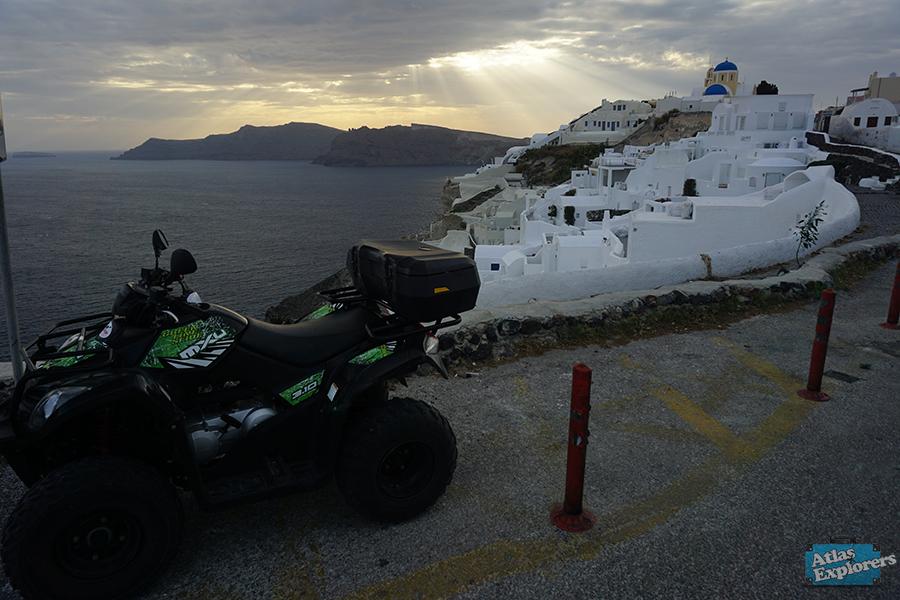 Santorini-quad